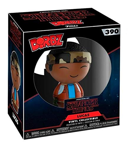Funko Dorbz: Stranger Things - Lucas Collectible Vinyl Figure,Brown/a,3 inches