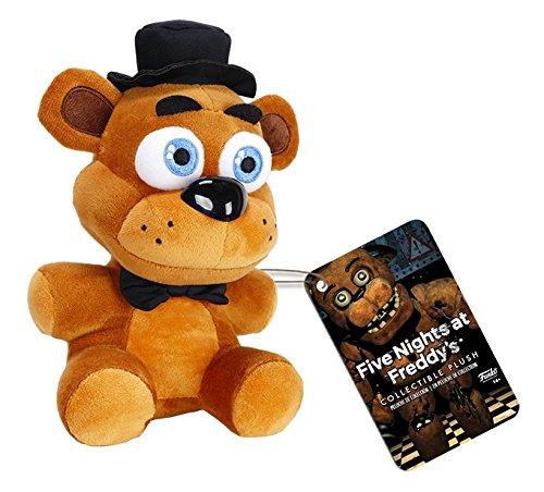 """Funko Five Nights at Freddy's Freddy Fazbear Plush, 6"""""""