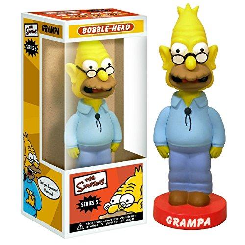 Funko Grampa from The Simpsons Wacky Wobbler Bobblehead