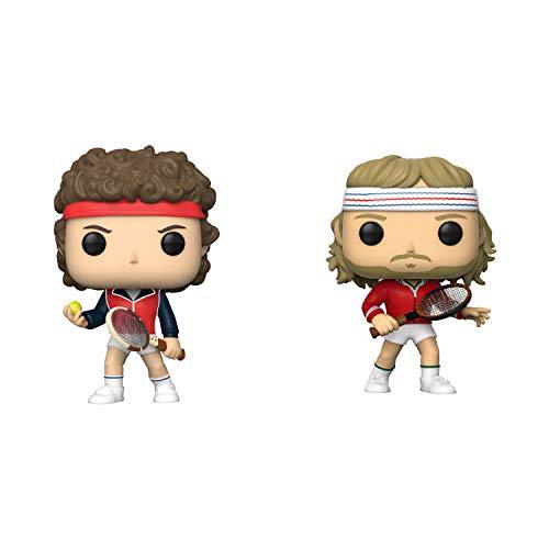 Funko Legends: POP! Tennis Legends Collectors Set - John McEnroe, Björn Borg