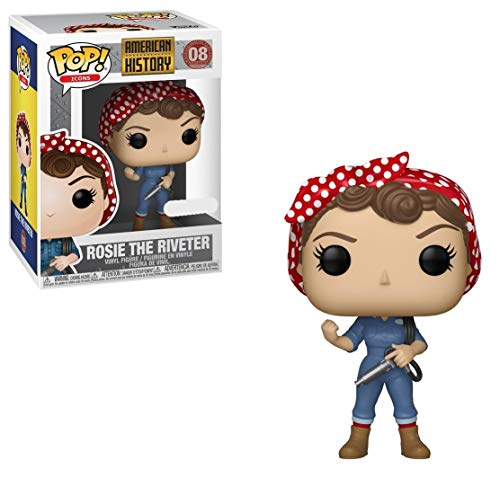 Funko Limited Edition Pop! Icons: History - Rosie The Riveter (Exclusive)
