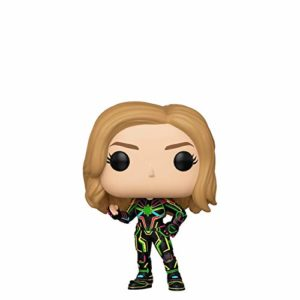 Funko Limited Edition Pop! Marvel: Captain Marvel - Captain Marvel with Neon Suit