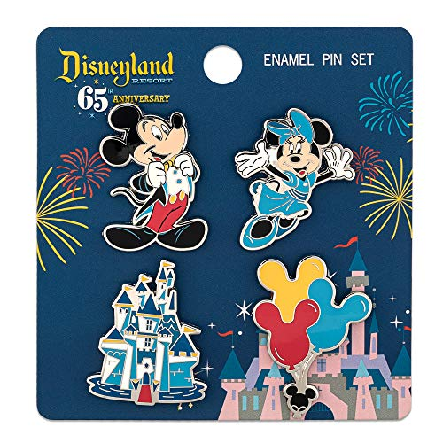 Funko Loungefly: Disney 65th - Mickey and Friends 4 Piece Pin Set