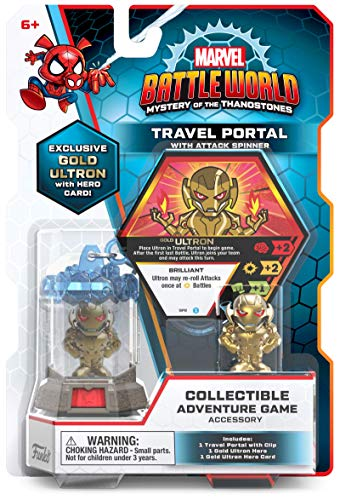 Funko Marvel Battleworld: Series 1 Travel Portal – Gold Ultron