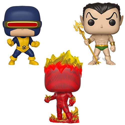Funko Marvel: Pop! First Appearance Collectors Set 1 - Cyclops, Namor, Human Torch