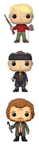 Funko Movies: POP! Home Alone Collectors Set: Kevin, Harry, Marv Action Figure