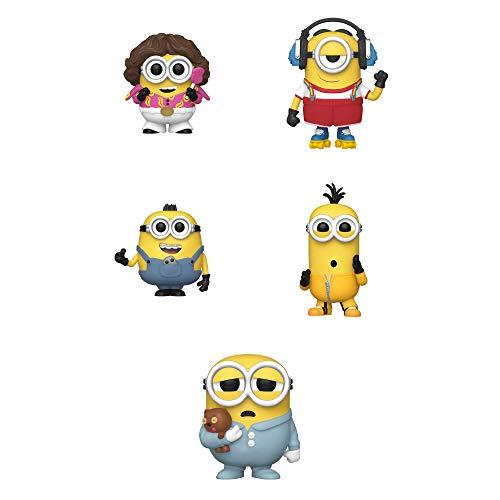 Funko Movies: POP! Minions 2 Collectors Set - 70's Bob, Skater Stuart, Angelic Otto, Kung Fu Kevin, Sleepy Pajama Bob