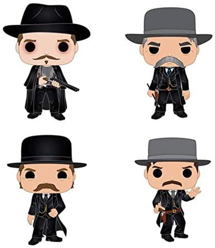 Funko Movies: POP! Tombstone Collectors Set - Doc Holiday, Virgil EARP, Wyatt EARP, Morgan EARP