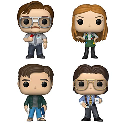 Funko Movies: Pop! Office Space Collectors Set - Milton Waddams, Joanna with Flair, Peter Gibbons, Bill Lumbergh