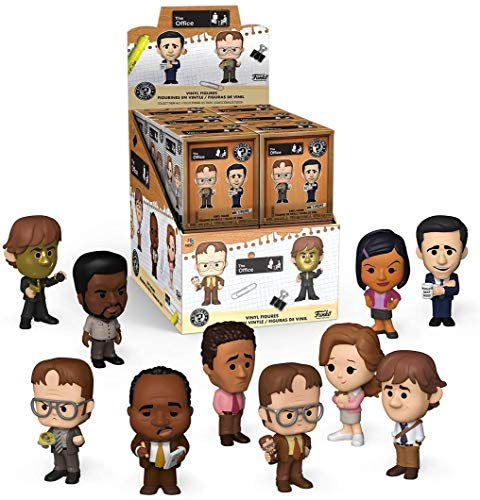 Funko Mystery Mini The Office - Case of 12 Blind Box Figures and Display Box