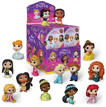 Funko Mystery Mini Ultimate Princesses - Manufacturers Display Case of 12
