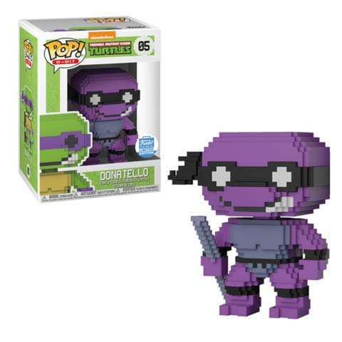 Funko POP! 8-Bit: Teenage Mutant Ninja Turtles #05 - Neon Donatello (Funko Shop Limited Edition)
