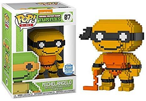 Funko POP! 8-Bit: Teenage Mutant Ninja Turtles #07 - Neon Michelangelo (Funko Shop Limited Edition)