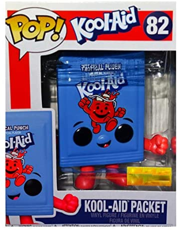 Funko POP! Ad Icons #82 - Kool-Aid Packet [Tropical Punch] Exclusive
