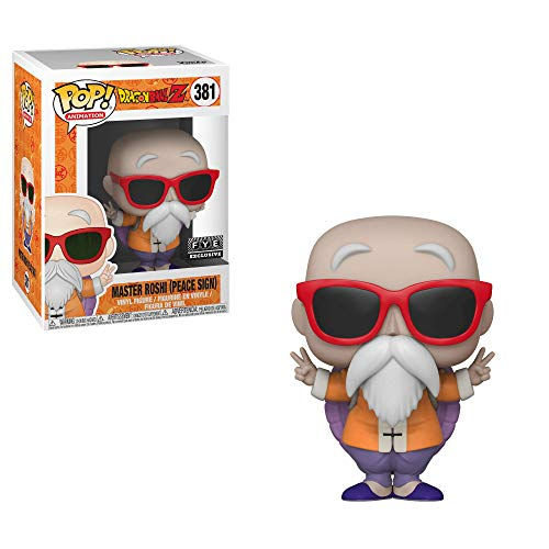 Funko POP! Animation: Dragonball Z #381 - Master Roshi {Peace Sign} (FYE Exclusive)