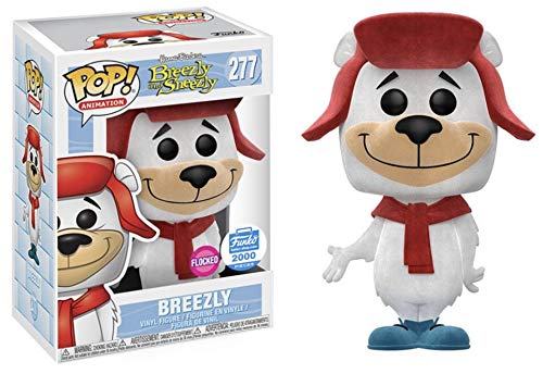 Funko POP! Animation: Hanna Barbera Breezly and Sneezly #277 - Breezly {Flocked} (Funko Shop Exclusive 2000 Pieces)