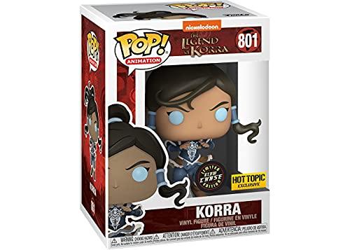Funko POP! Animation Legend of Korra - Korra (Glow in The Dark & Metallic), Exclusive