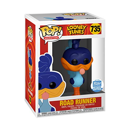 Funko POP! Animation: Looney Tunes Road Runner #735 Exclusive [Sold Out]