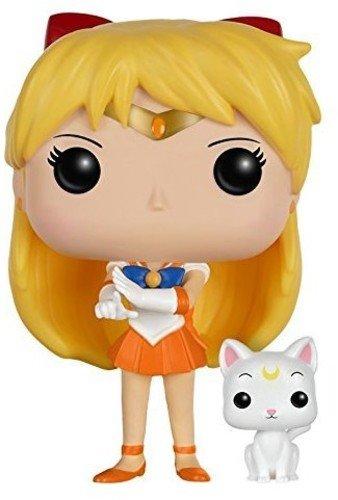 Funko POP Anime: Sailor Moon - Sailor Venus with Artemis Action Figure