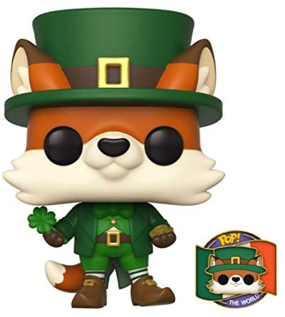 Funko POP! Around The World #03 Finley (Ireland) with Pin Exclusive