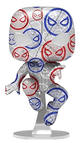 Funko POP! Artist Series: Marvel Patriotic Age - Spider-Man Exclusive