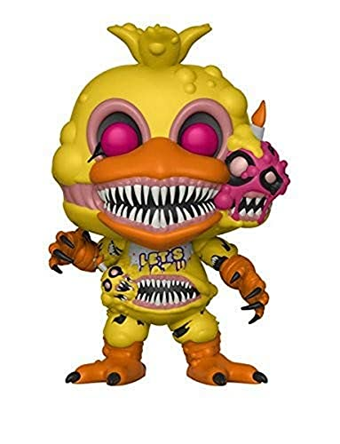 Funko POP! Books: Five Nights at Freddy's-Twisted Chica Collectible Figure, Multicolor