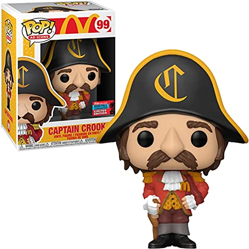 Funko POP! Captain Crook #99 NYCC 2020 Shared Exclusive