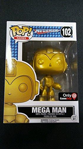 Funko POP! Chase Gold Mega Man Gamestop Exclusive #102