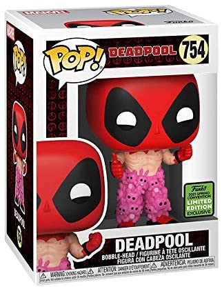 Funko POP! Deadpool - Deadpool with Teddy Bear Pants (ECCC 2021 Shared Exclusive)