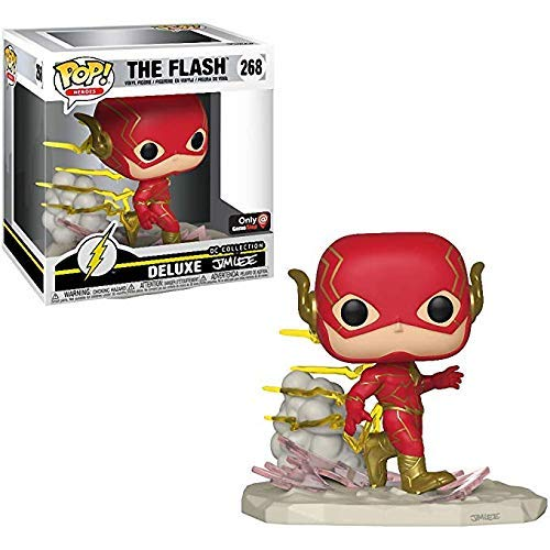 Funko POP! Deluxe DC Collection by Jim Lee The Flash #268 GameStop Exclusive
