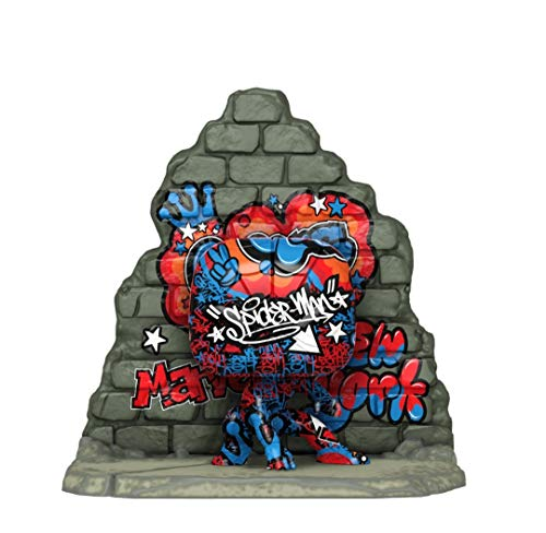 Funko POP! Deluxe: Marvel Street Art Collection Spider-Man (Gamestop Exclusive)