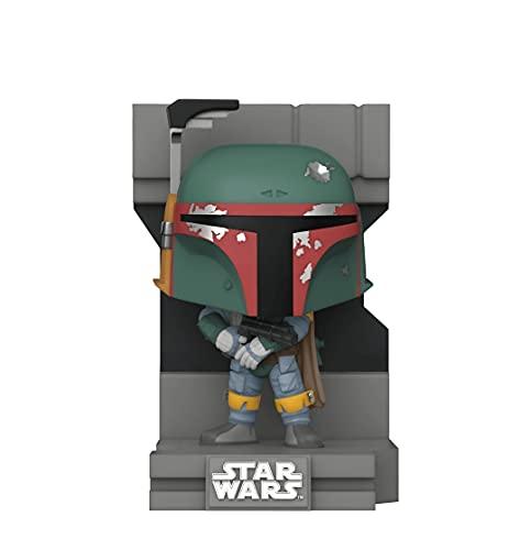 Funko POP! Deluxe: Star Wars Bounty Hunters Collection Boba Fett Metallic Exclusvie