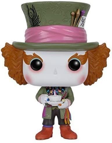 Funko POP Disney: Alice in Wonderland Action Figure - Mad Hatter,Multi