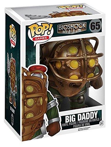 "Funko POP Games: Bioshock - Big Daddy 6"" Action Figure,Multi-colored"