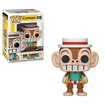 Funko POP! Games: Cuphead #418 - Mr. Chimes (GameStop Exclusive)