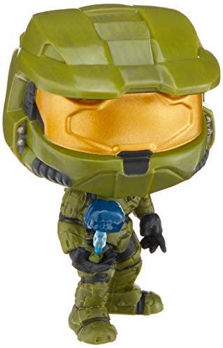 Funko POP! Games: Halo Master Chief with Cortana Collectible Figure, Multicolor