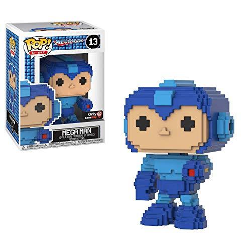 Funko POP! Games: Mega Man #13 - Mega Man 8-Bit (GameStop Exclusive)