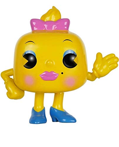 Funko POP Games: Ms. Pac-Man Action Figure