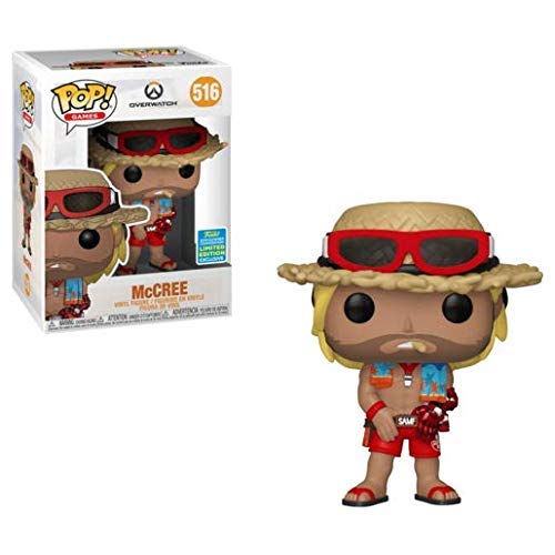 Funko POP! Games: Overwatch #516 - McCree (2019 Summer Convention Limited Edition Exclusive)