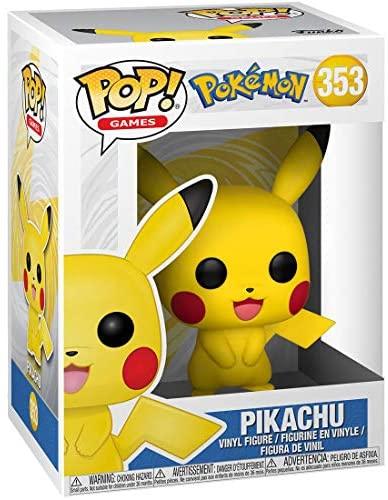 Funko POP! Games: Pokemon - Pikachu (Exclusive)