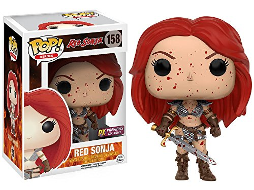 Funko POP! Heroes: Red Sonja #158 - Red Sonja Bloody (PX Previews Exclusive)