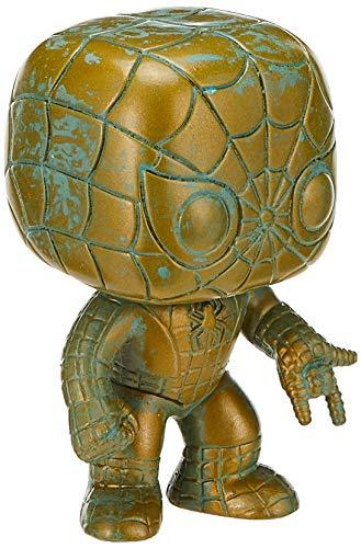 Funko POP! Marvel 80th Anniversary - Spider-Man [Patina] # 495 - Target Exclusive