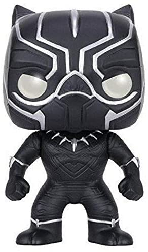 Funko POP Marvel: Captain America 3: Civil War Action Figure - Black Panther,Multi-colored,3.75 inches