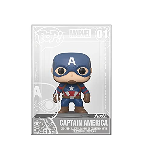 Funko POP! Marvel Die-Cast Captain America #01