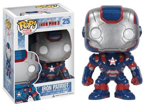 Funko POP Marvel Iron Man Movie 3: Iron Patriot Action Figure