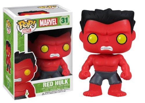 Funko POP Marvel: Red Hulk Action Figure