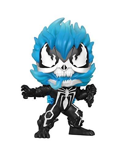 Funko POP! Marvel Venom #369 - Venomized Ghost Rider [Blue Glow] Exclusive [Sold Out]