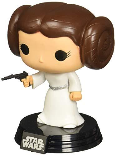 Funko POP Movie: Star Wars Princess Leia Bobble Head Vinyl Figure