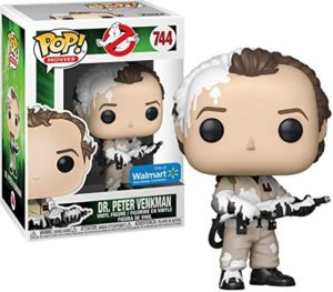 Funko POP! Movies Ghostbusters #744 Dr. Peter Venkman Special Edition Vinyl Figure Marshmallow Fluff Exclusive
