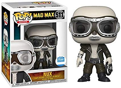 Funko POP Movies: Mad Max Fury Road #511 - Nux - With Goggles ( Funko Shop Exclusive)